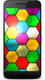 Stained Glass 3D LWP Screenshot