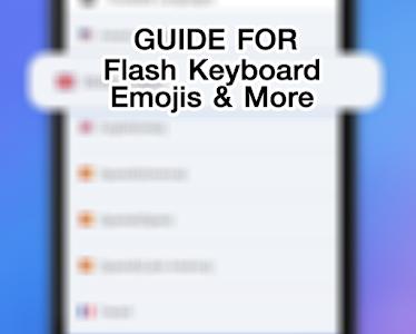 Guide Flash Keyboard Emojis screenshot 4