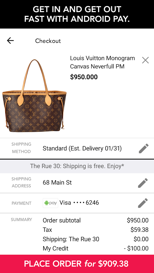 Rue La La-Shop Designer Brands- screenshot