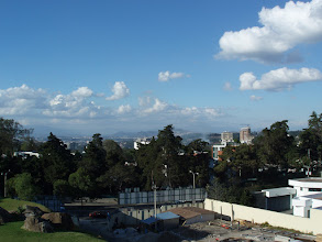 Photo: This is the view from our our five-star hotel above Guatemala City.