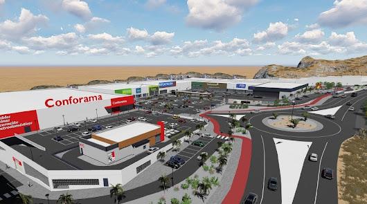 El Parque comercial 'El Canario' de Huércal se inaugura el tres de julio