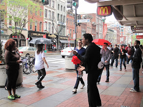 Photo: 3.24.12 The Saartjie Project street theater in Washington, DC, USA