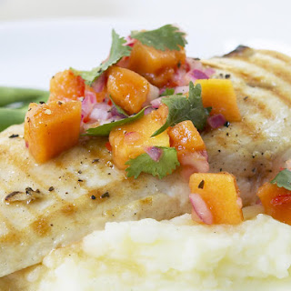 Chicken with Papaya Salsa