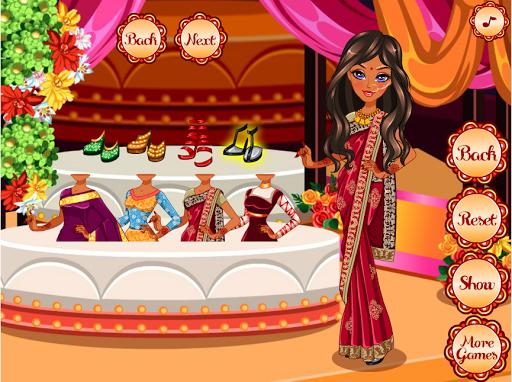 العاب تلبيس و مكياج هندية بنات