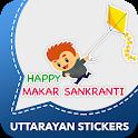 Makar Sankranti Stickers : Uttarayan WAStickerApps icon