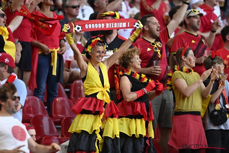 Besmettingen bij fans die match tegen Denemarken bijwoonden: Belgische supporters moeten zich dringend laten testen