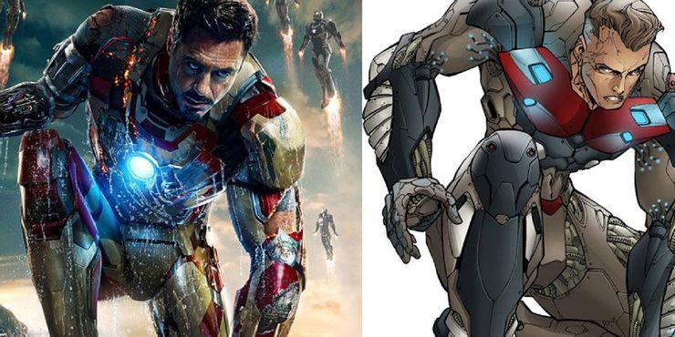Marvel Iron Man 3 and Horizon Comics Radix