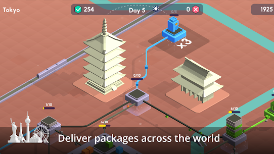 Package Inc Mod Apk (Unlimited Money + Full Unlocked) 4