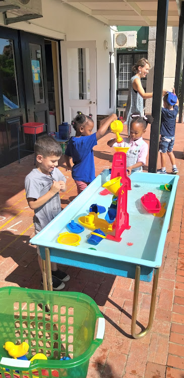 Play is an integral part of the daily programme at St George's Pre-preparatory.