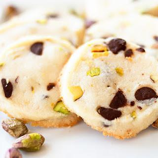 Lemon Pistachio Shortbread Cookies.