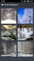Screenshot of Winter Wallpapers