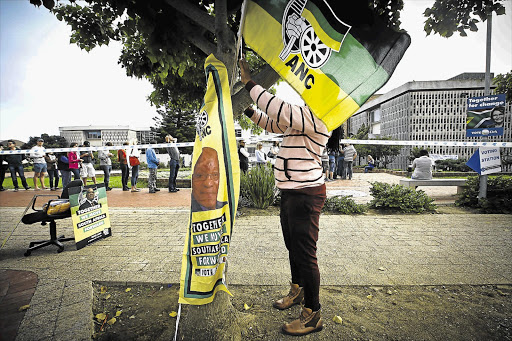 The ANC said on Sunday that members who foster division would not be included on its list of representatives to the national assembly and provincial legislatures.