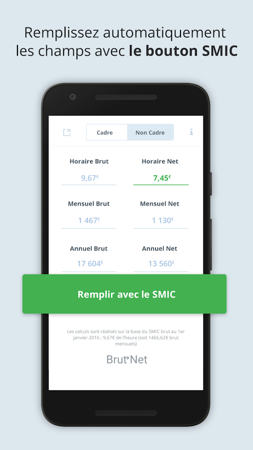 calcul salaire brut net 2017 android apps on play