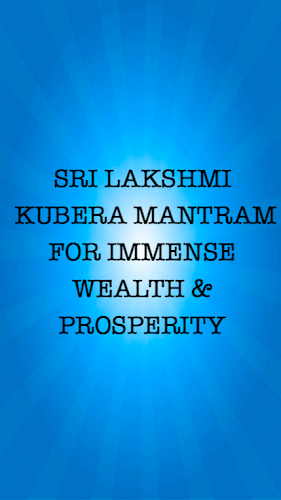 Download Kuber Mantra For Lot Of Wealth APK latest version