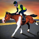Rodeo Police Horse Simulator icon