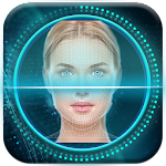 Face Detection Screen Lock Icon