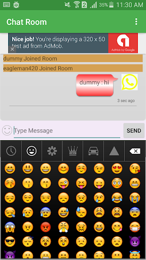 Chat Room And Private Chat 3.8 androidtablet.us 2
