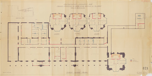 BBC Studio Plans: Dec 1935