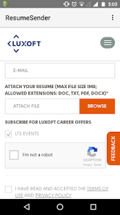 resume cv sender send cv resume apply jobs android apps on