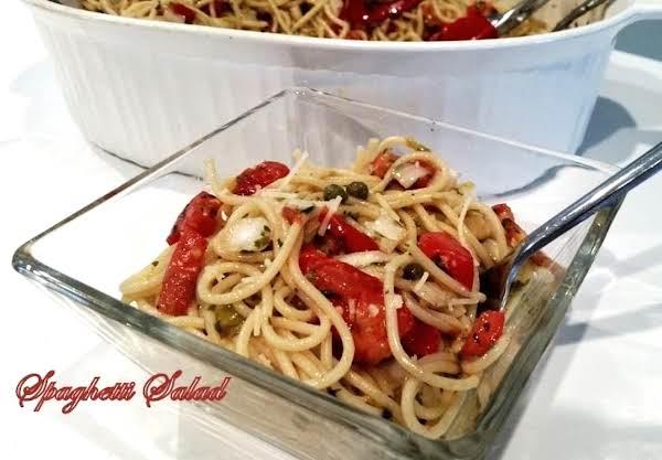 ~ Spaghetti Salad ~ Recipe