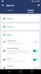 screenshot of AppLock