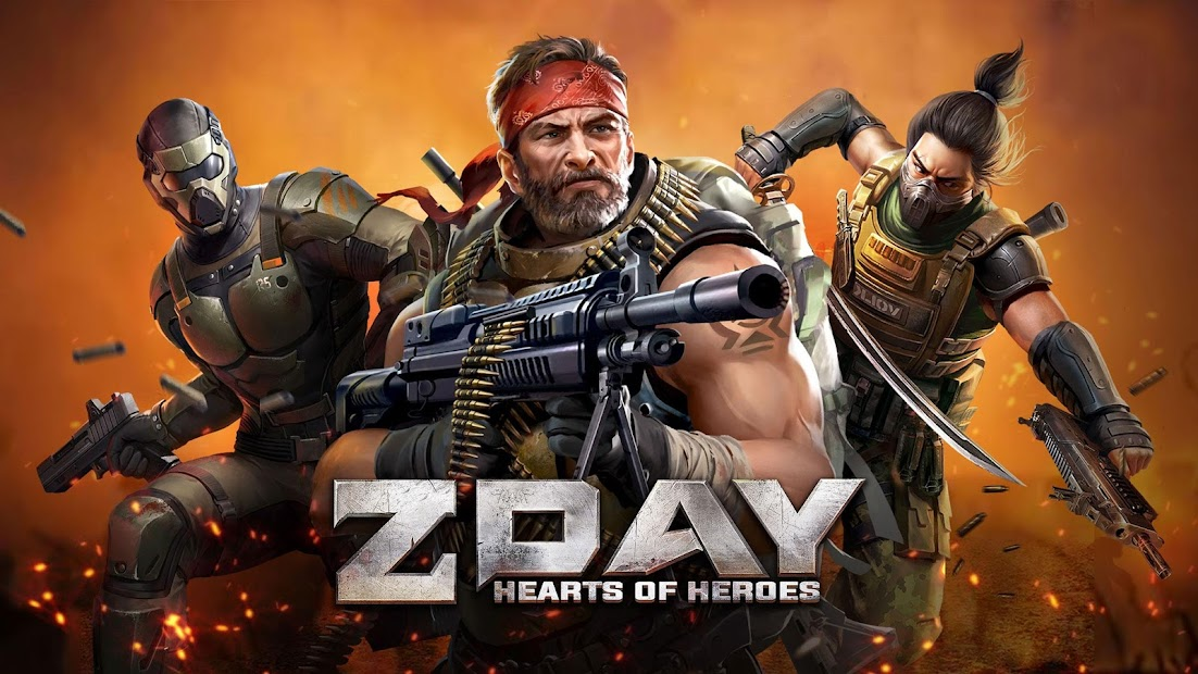 Z Day: Hearts of Heroes | MMO Strategy War Android App Screenshot