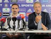 Herman Van Holsbeeck évoque les dossiers chauds d'Anderlecht