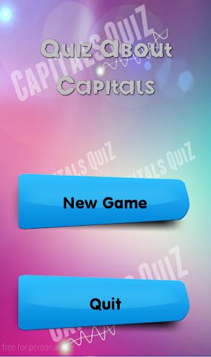 Quiz About Capitals