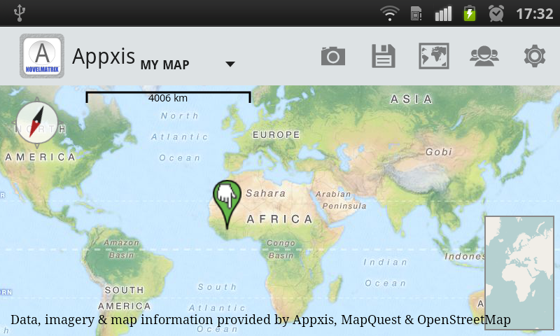 Appxis - Free Maps & Map Tools - screenshot