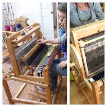 Photo: saori non folding 60 loom this one is the spring 4 harness