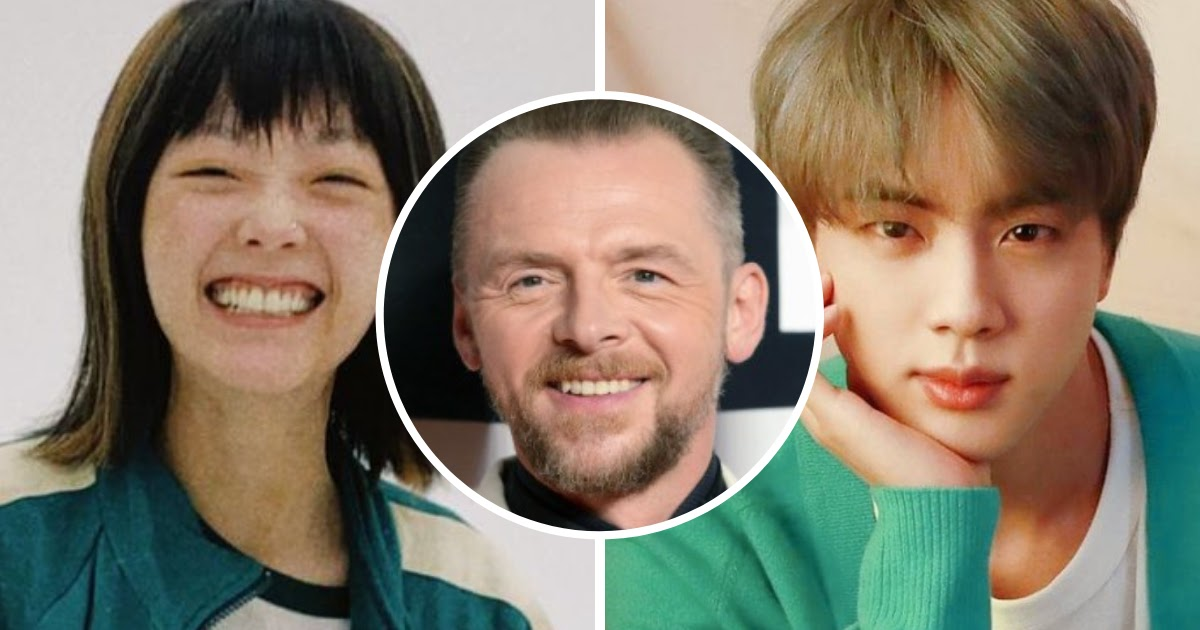 """Simon Pegg Combines BTS And """"Squid Game"""" To Prove He's The Ultimate Stan"""