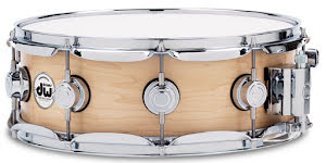 """14"""" x5"""" DW Collectors All-Maple - Satin Oil Natural Finish"""