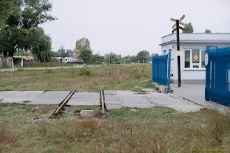 Photo: Pozostałości po bocznicy do młyna {Toruń, ul. Dworcowa; 2003-09-23}