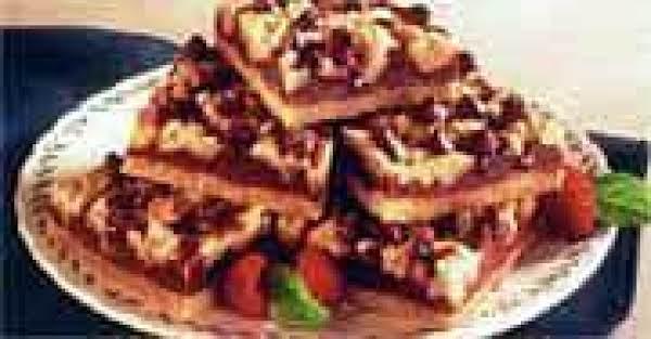 Chocolate Raspberry Crumb Bars Recipe
