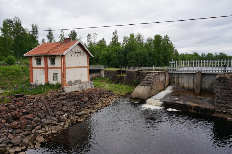 Photo: Stjärnsfors, Norra Råda socken, Hagfors kommun, Värmland. 20160618. Kraftstationen © Sven Olsson (e-post: kosmografiska@gmail.com)