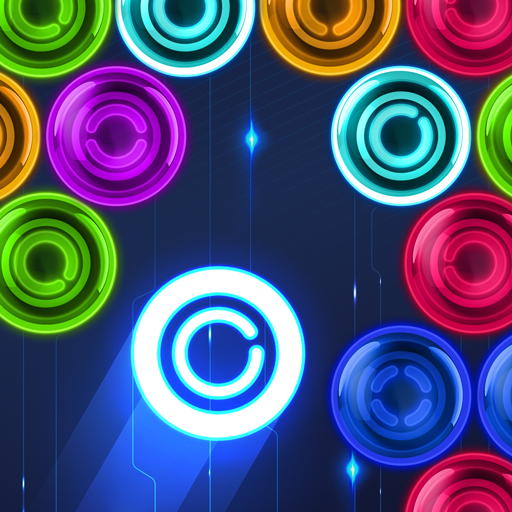 Magnetic balls: glowing neon (game)