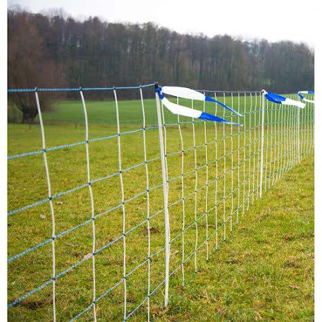 Fårelnät / Vargnät 108 cm Dubbelspets Plus/Minus Nät 50 Meter