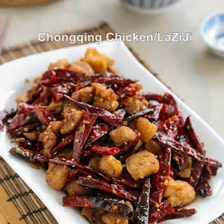 Chongqing Chicken with Chilies 辣子雞.