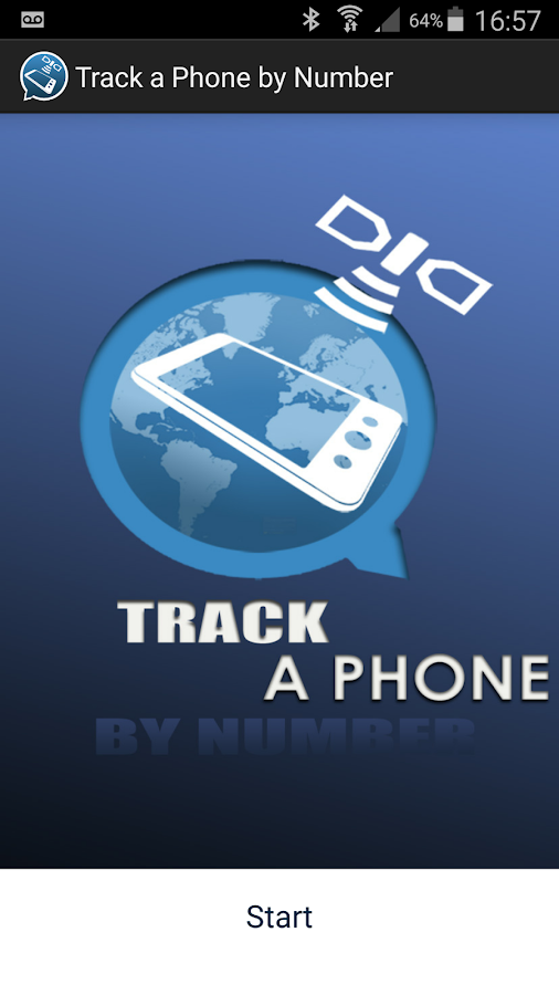 Track a Phone by Number: captura de pantalla