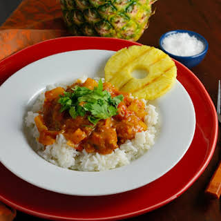 Pineapple and Pork Curry.