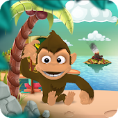 Monkey Run 4 Banana Island