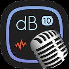 Decibel 10: dBA Noise Meter, FFT Spectrum Analyzer icon