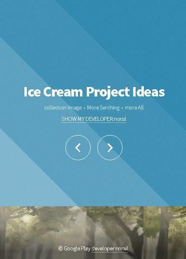 冰淇淋棒項目的想法