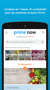 Amazon Prime Now Screenshot