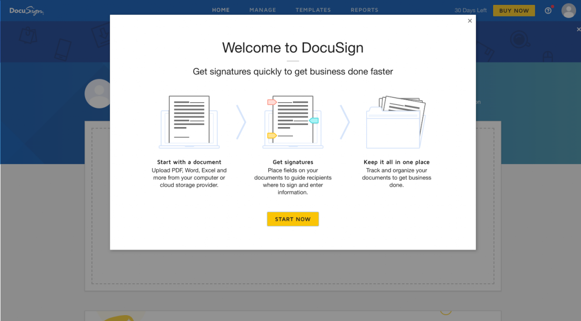 Docusign welcome