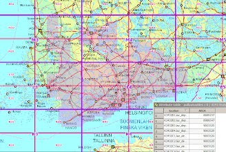 Photo: Building a tileindex as a shapefile with gdaltindex utility