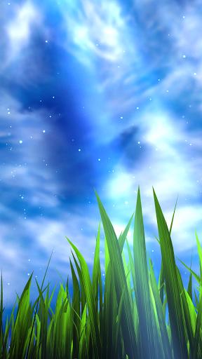 3d grass live wallpaper bellissimo sfondo animato per for Sfondo animato pesci