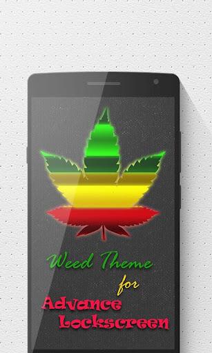 Weed Advance Lock Screen