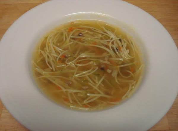 Noodle Soup Recipe