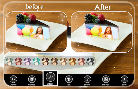 Cake Photo Frames - náhled